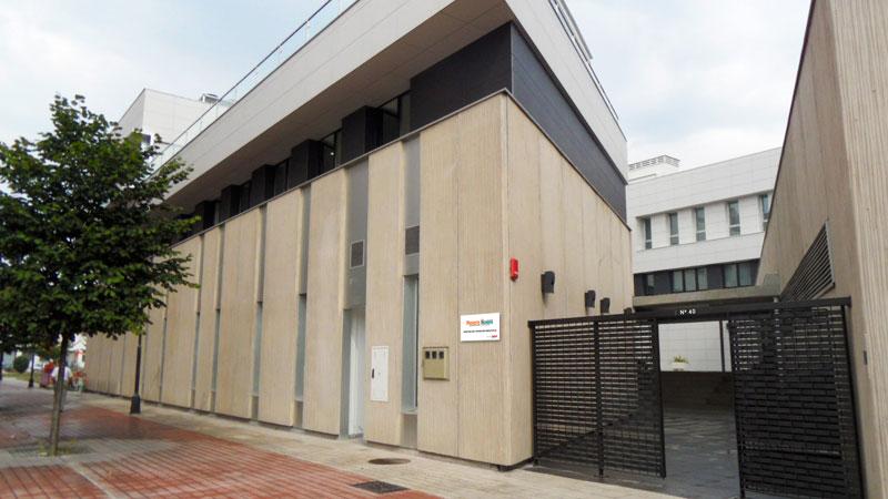 Centro Gijón fachada del edificio