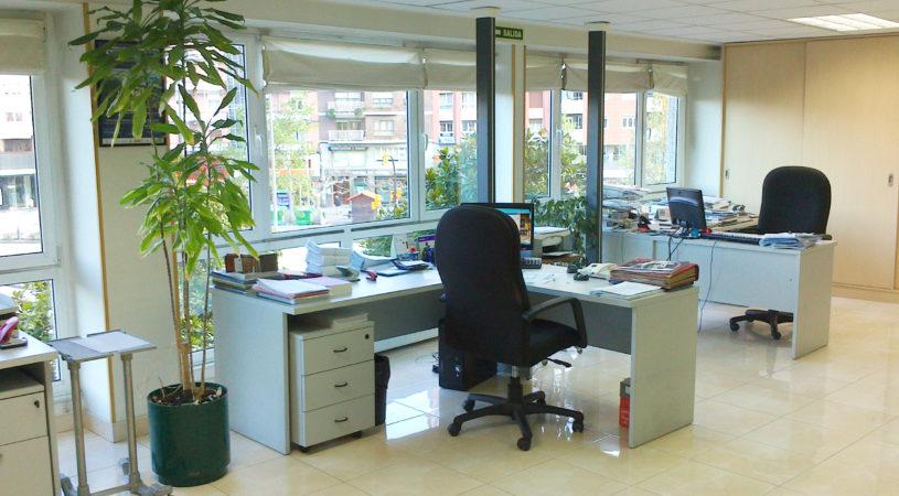 Interior sede Fundación CESPA