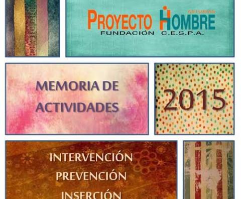 portada Memoria Actividades 2015