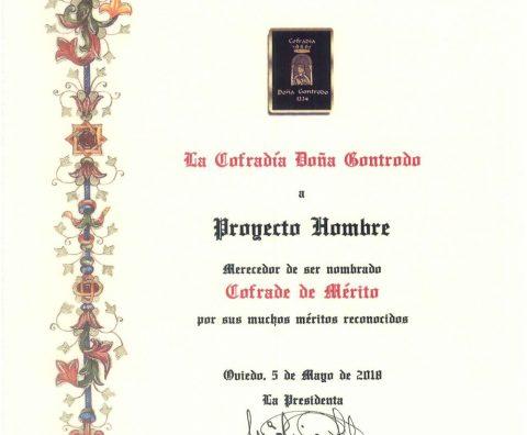 Diploma Cofrade de Mérito