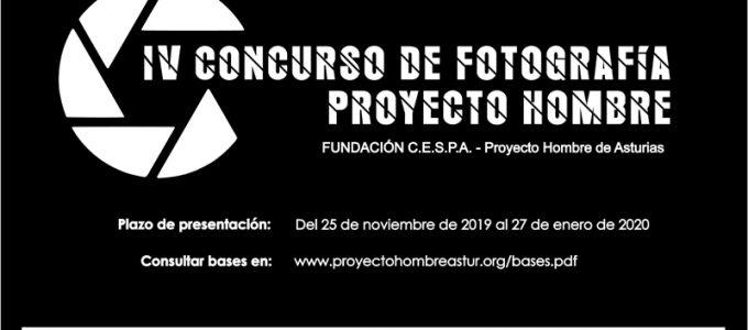 Cartel IV concurso de fotografía Proyecto Hombre