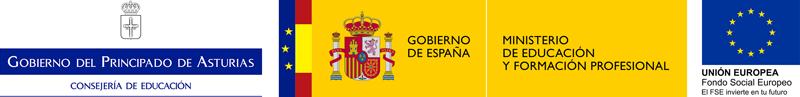 Logotipo Consejería de Educación, MEyFP y FSE (png)