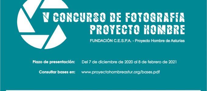 cartel quinto concurso de fotografía proyecto hombre