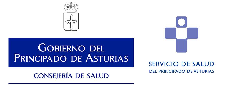 Logo Consejería de Salud y SESPA