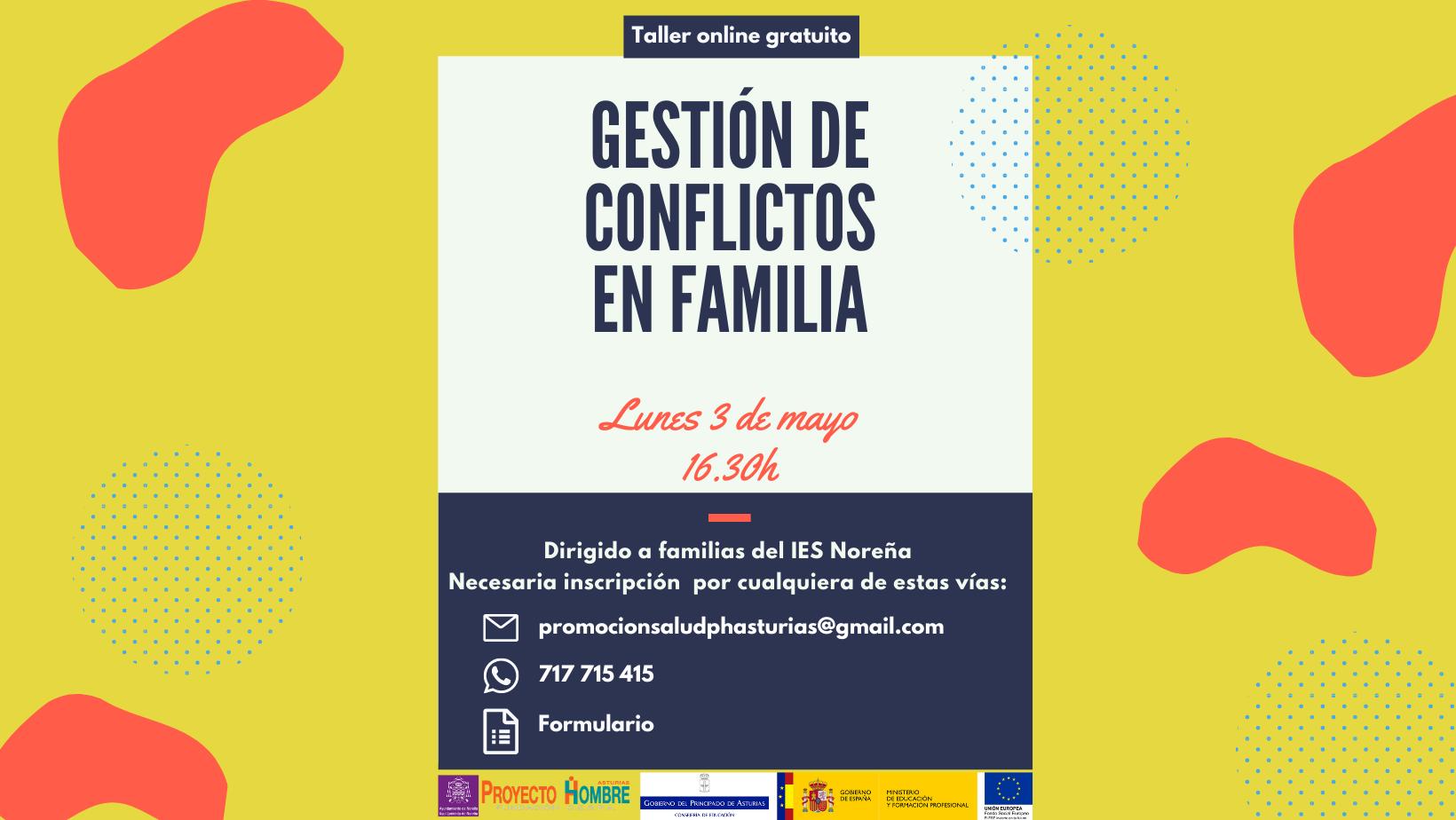 GESTIÓN DE CONFLICTOS EN FAMILIA