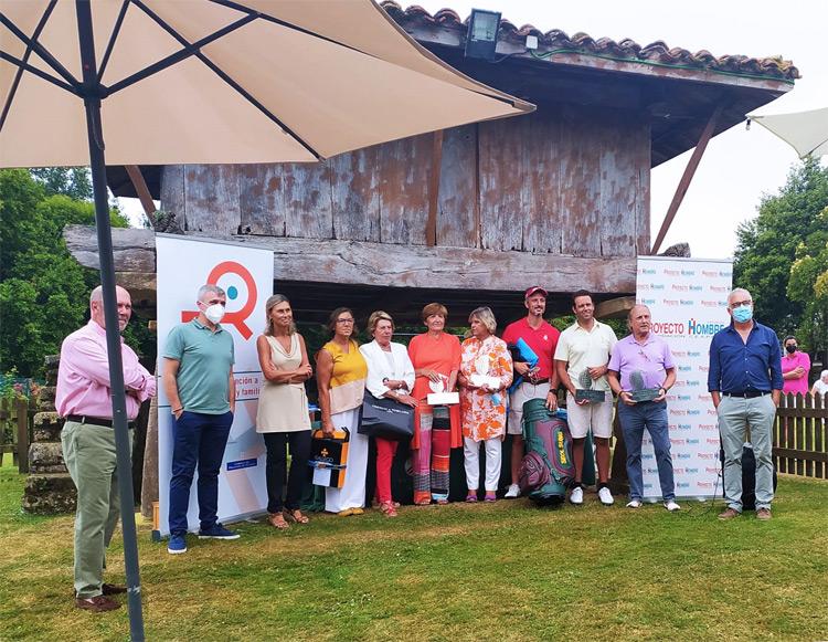 ganadores torneo de golf proyecto hombre